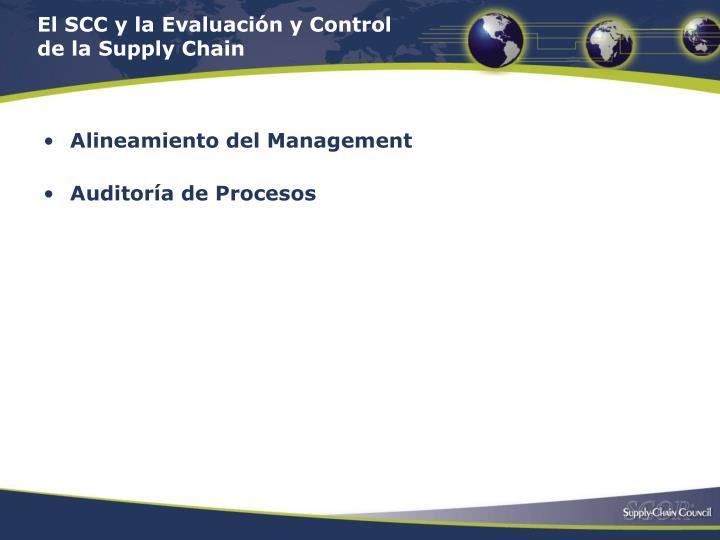 El SCC y la Evaluación y Control