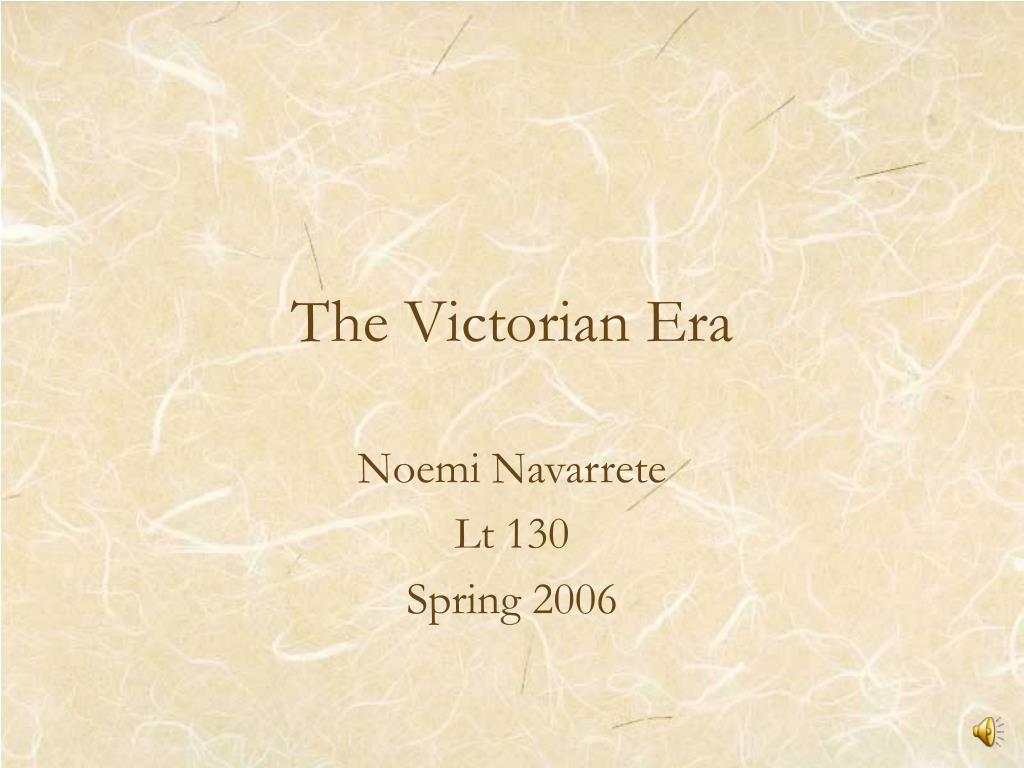 the victorian era l.