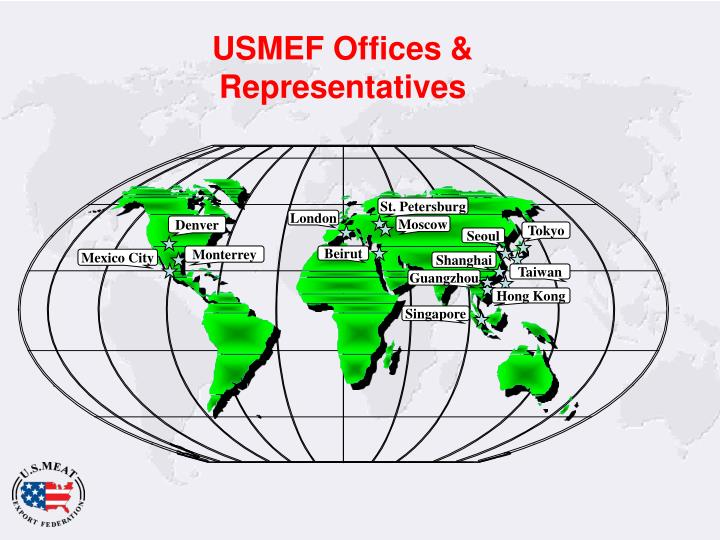 Usmef offices representatives