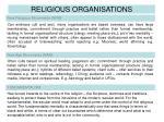 religious organisations4