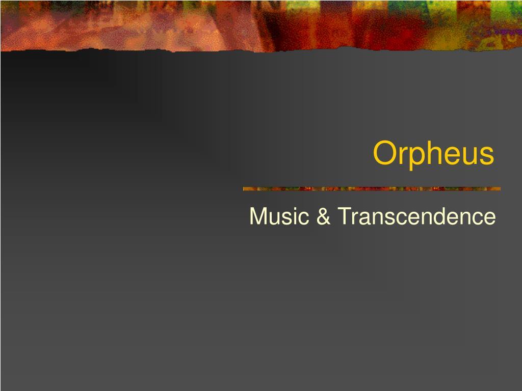 orpheus l.