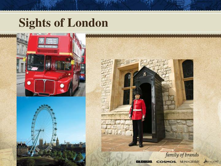 Sights of London