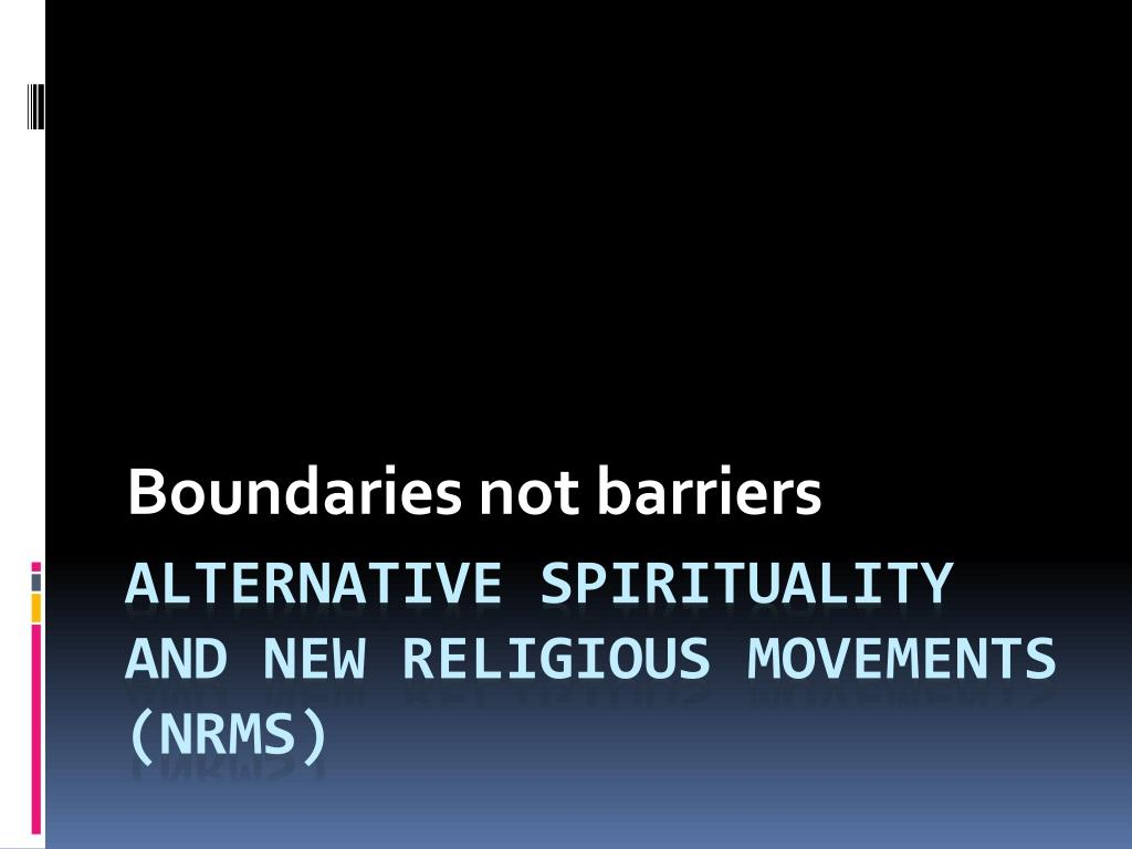 boundaries not barriers l.