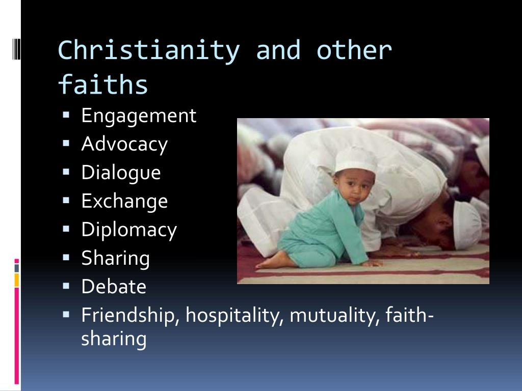Christianity and other faiths