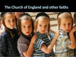 the church of england and other faiths