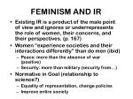 feminism and ir