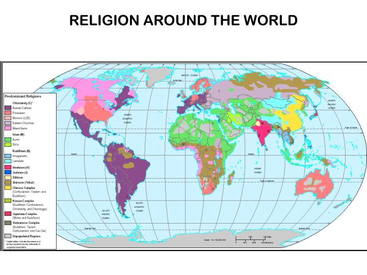 Religion around the world