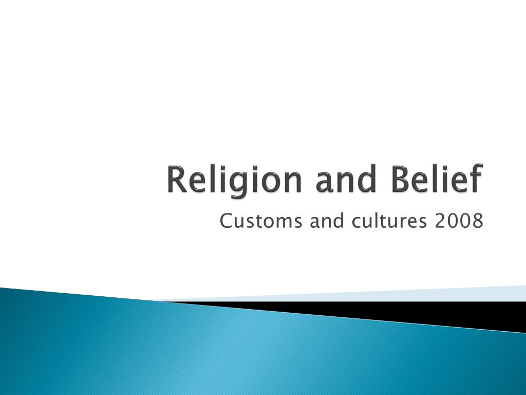 religion and belief l.