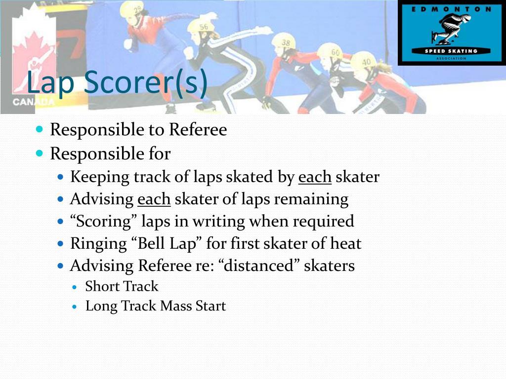 Lap Scorer(s)