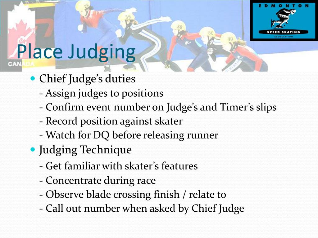 Place Judging