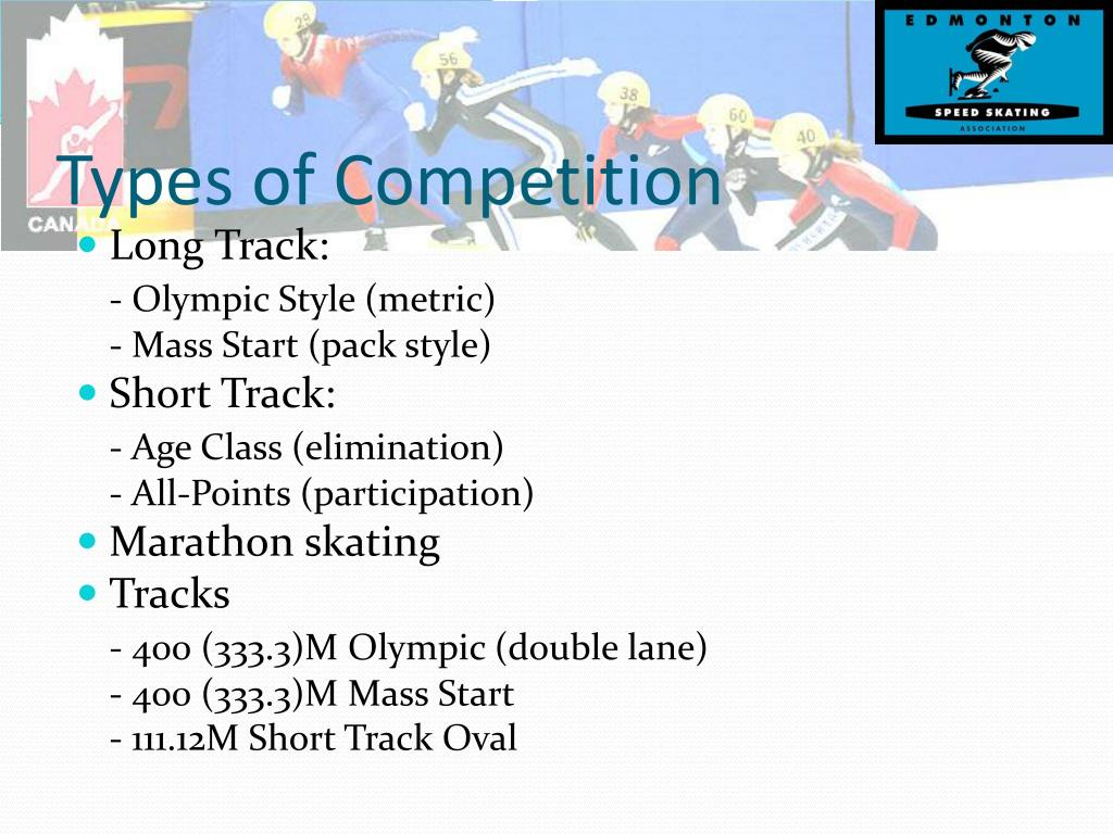 Types of Competition