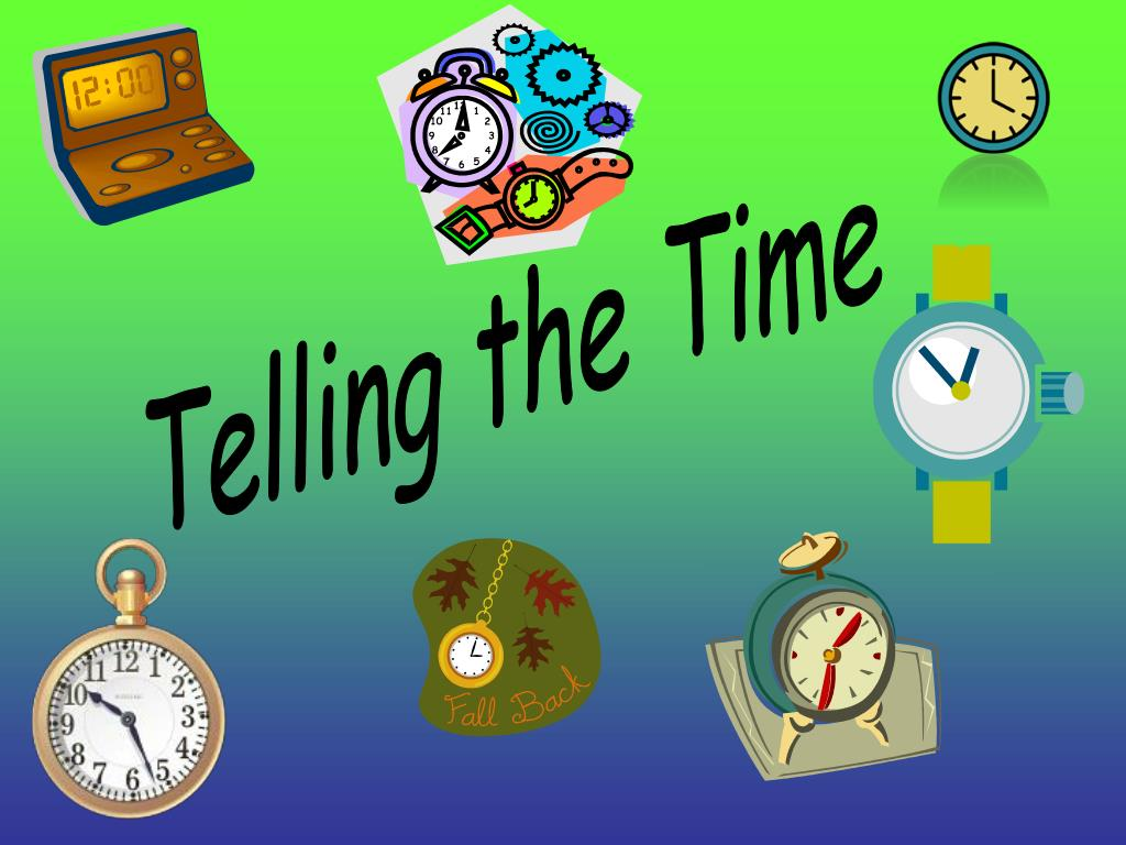 PPT   Telling the Time PowerPoint Presentation, free download   ID ...