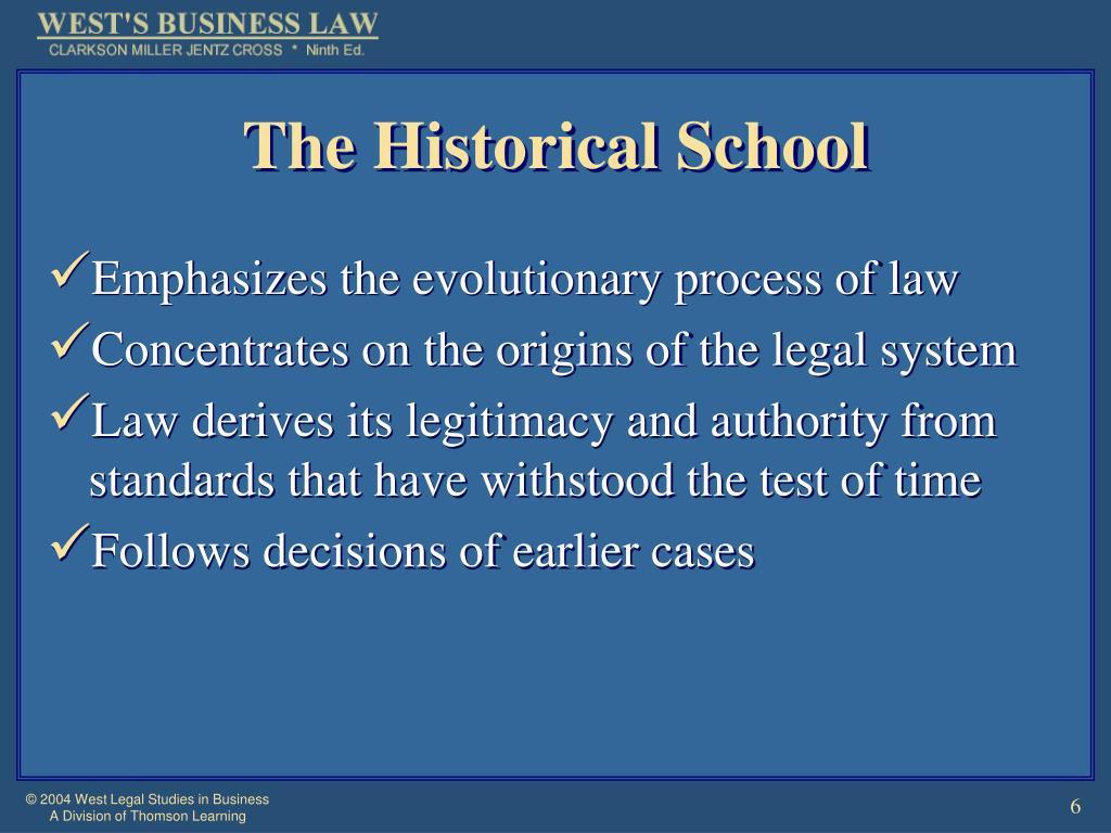 The Historical School