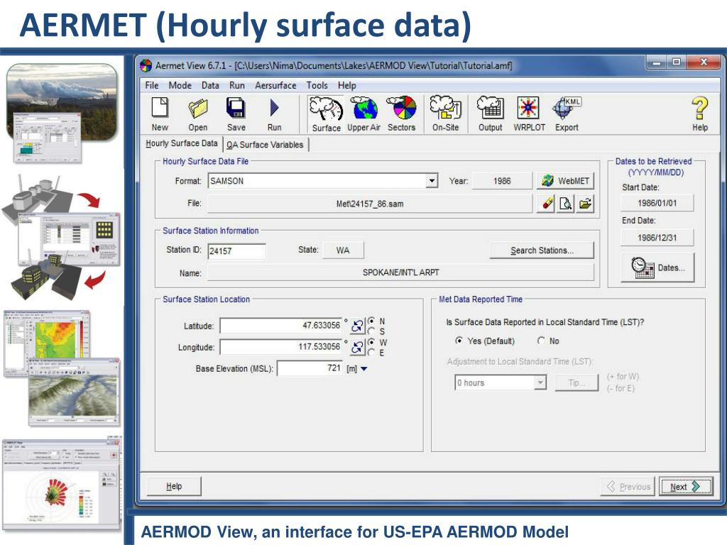 AERMET (Hourly surface data)