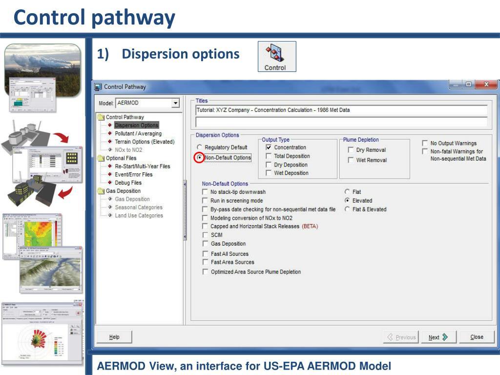 PPT - Tutorial for AERMOD View, an interface for US-EPA AERMOD Model