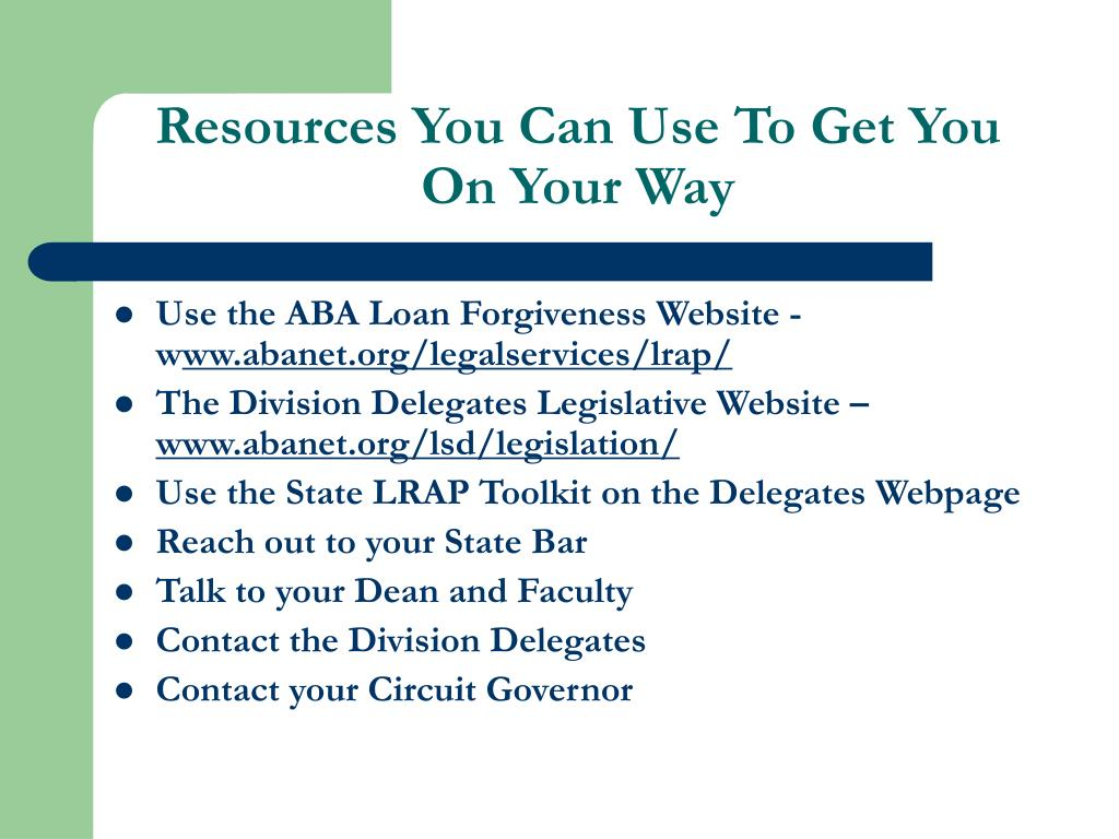 Resources You Can Use To Get You On Your Way