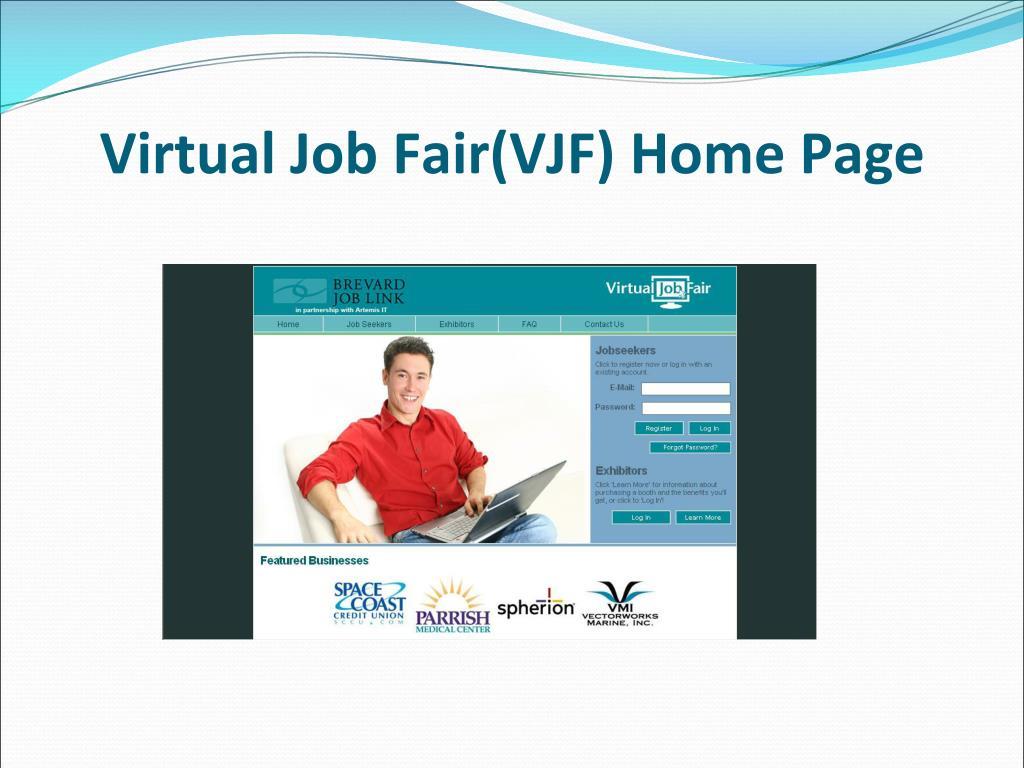 Virtual Job Fair(VJF) Home Page