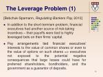 the leverage problem 1