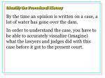 identify the procedural history28
