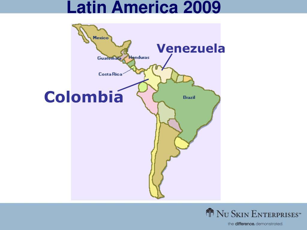 Latin America 2009