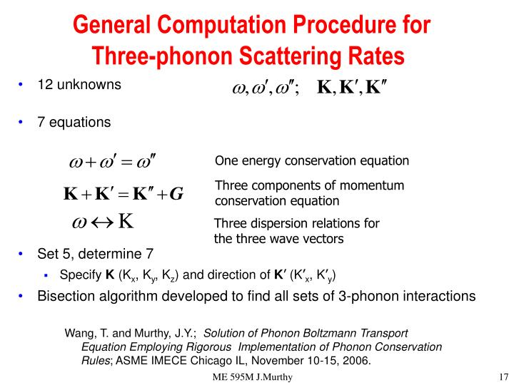 General Computation Procedure for Three-phonon Scattering Rates
