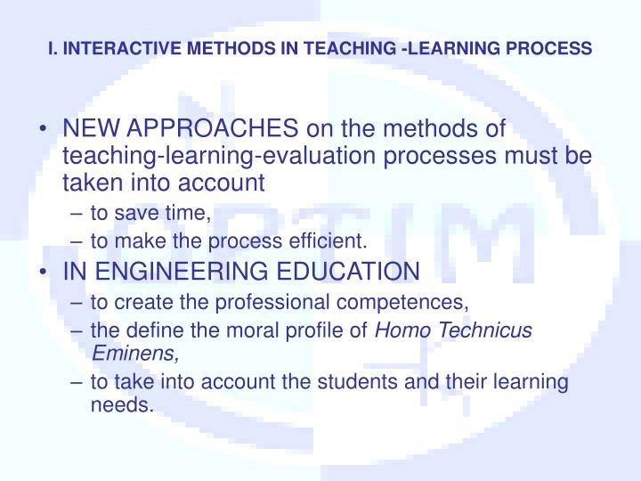 evaluation of teaching and learning approaches Evaluation approaches & types  summative evaluation occurs at the end of a program cycle and provides an overall description of program effectiveness.