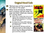 original moral code