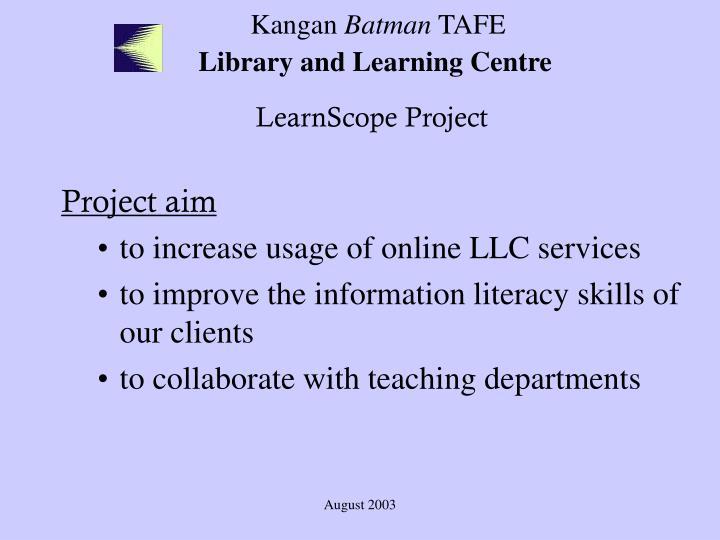 Kangan batman tafe library and learning centre2
