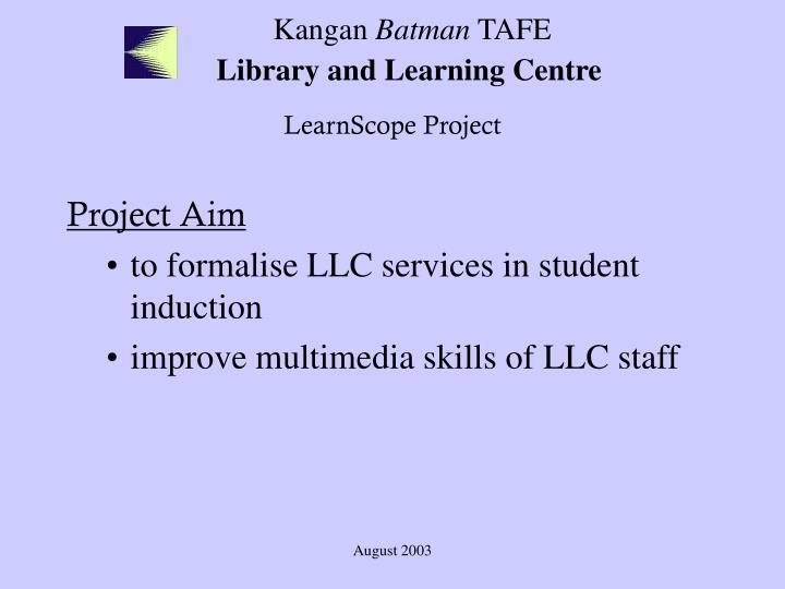 Kangan batman tafe library and learning centre3