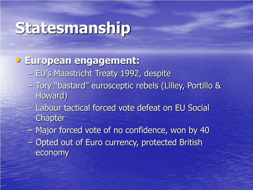 Statesmanship