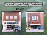 fa ade program design guidelines