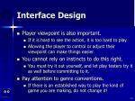 interface design61