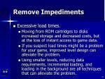 remove impediments49