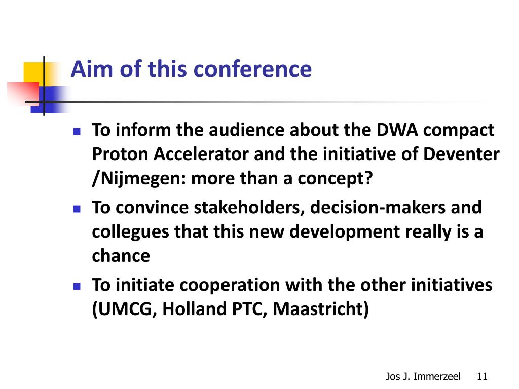 Aim of this conference