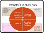 integrated english program