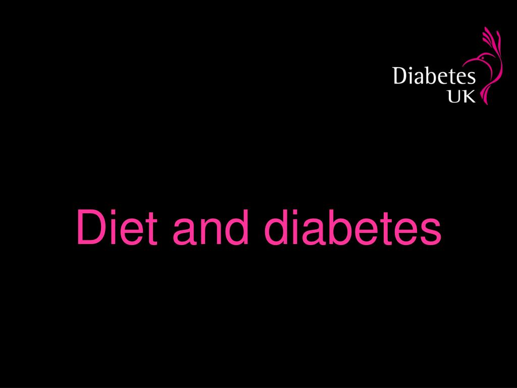 diet and diabetes