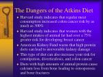 the dangers of the atkins diet