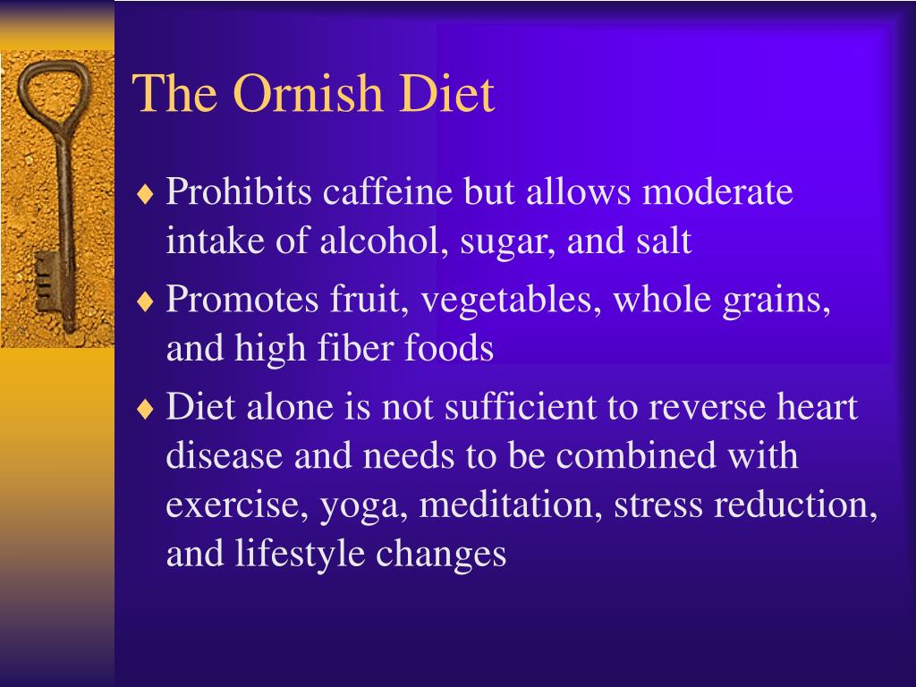 The Ornish Diet