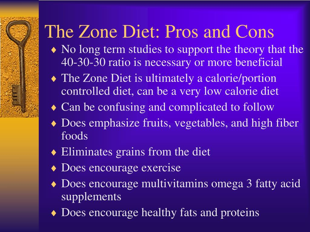 The Zone Diet: Pros and Cons