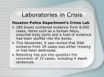 laboratories in crisis
