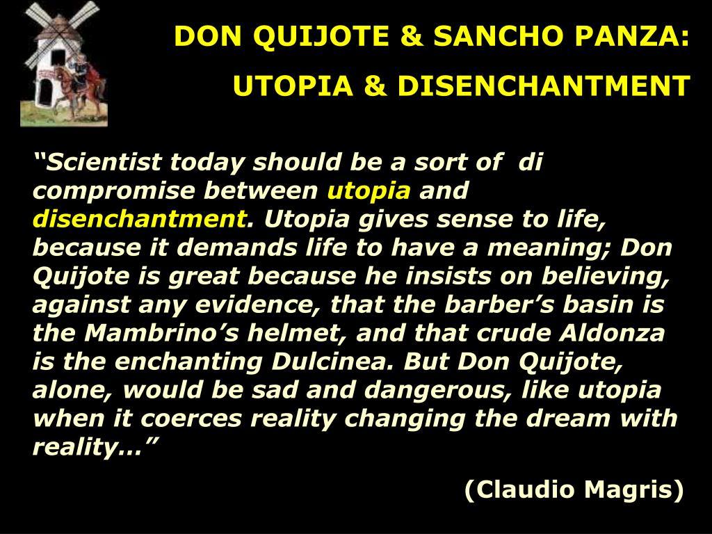 DON QUIJOTE & SANCHO PANZA: