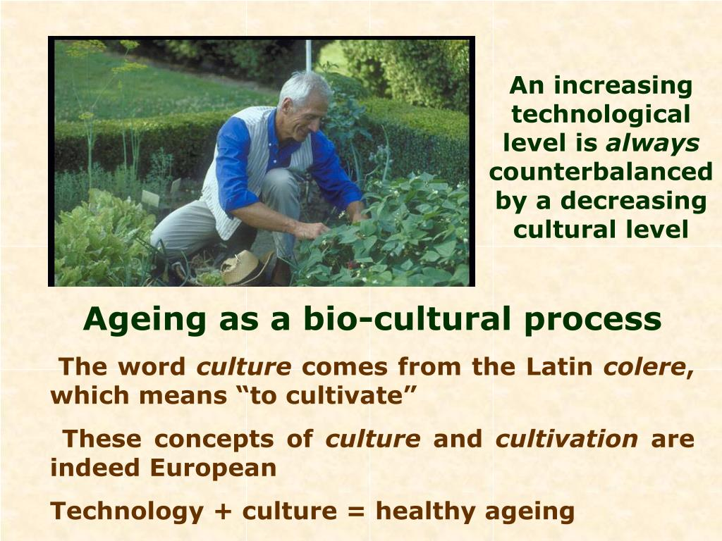 An increasing technological level is