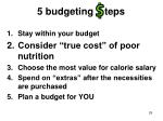 5 budgeting teps29
