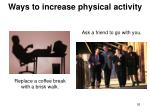 ways to increase physical activity26