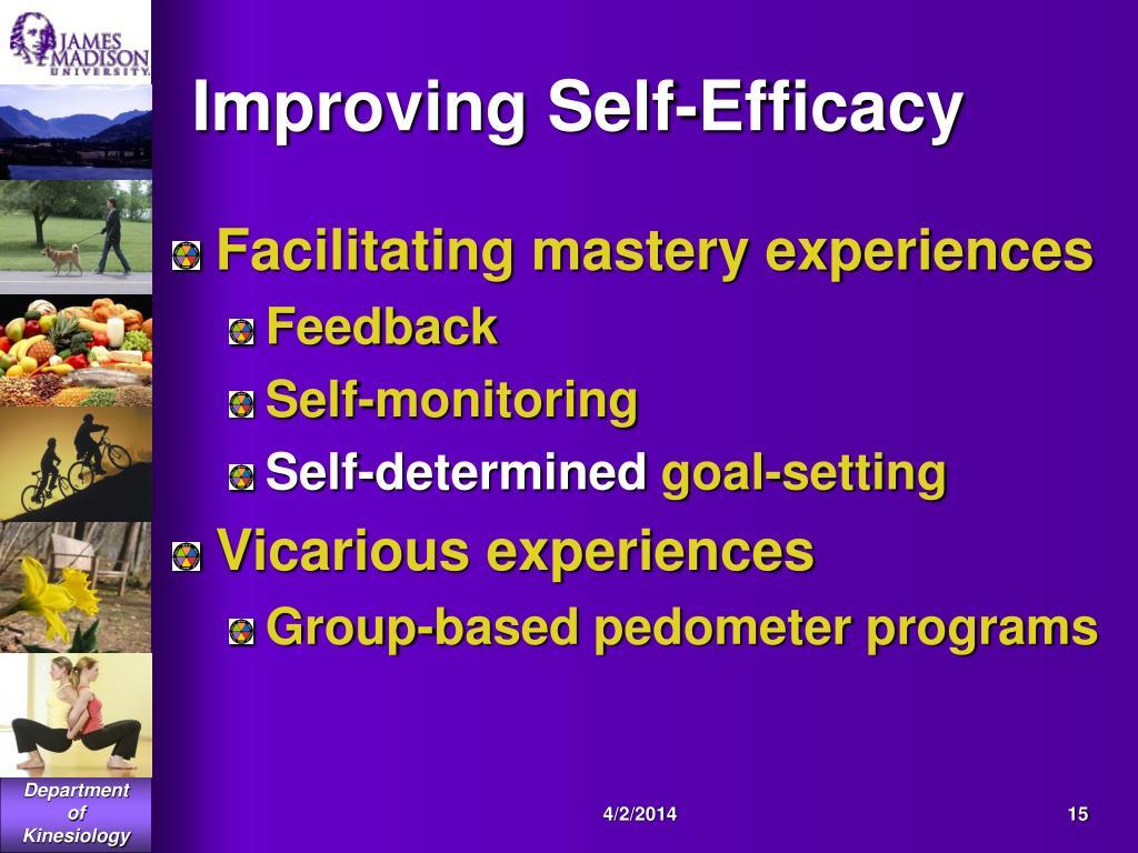 Improving Self-Efficacy