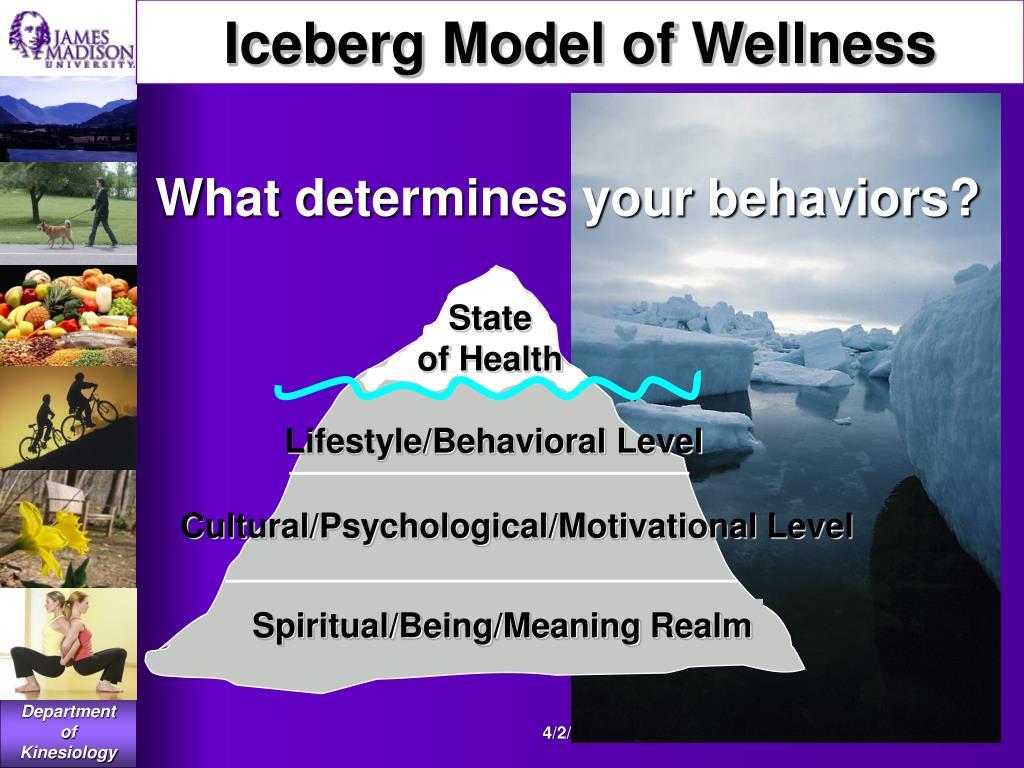 Iceberg Model of Wellness