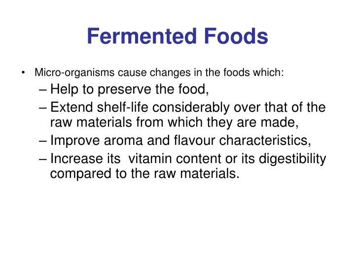 Fermented foods2