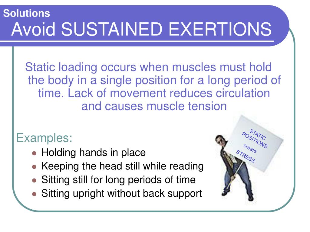 STATIC POSITIONS