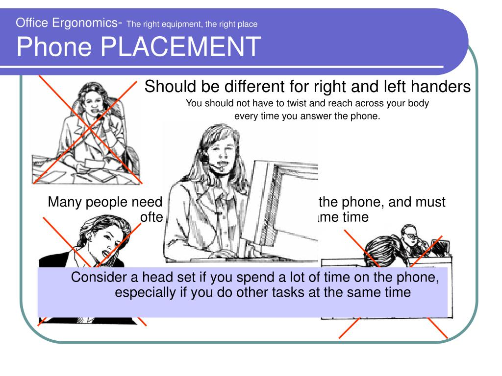 Many people need to spend a lot of time on the phone, and must often do other tasks at the same time