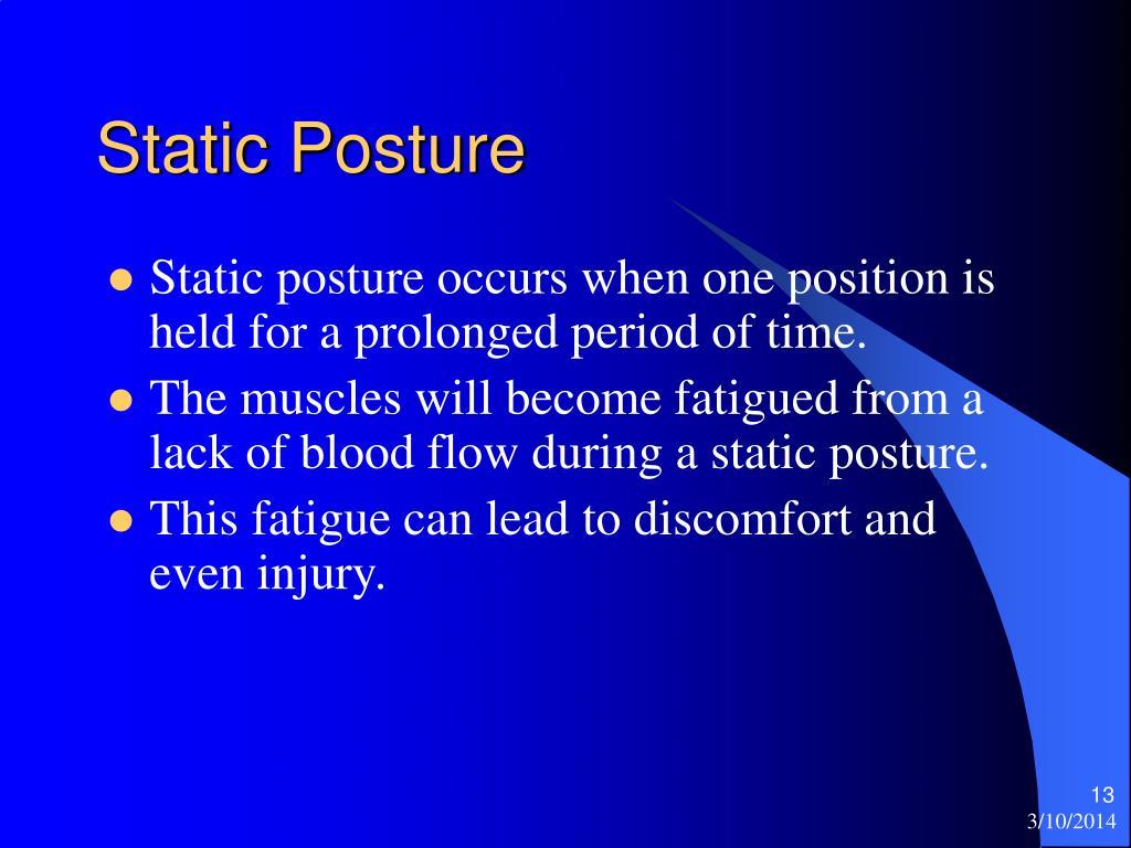 Static Posture